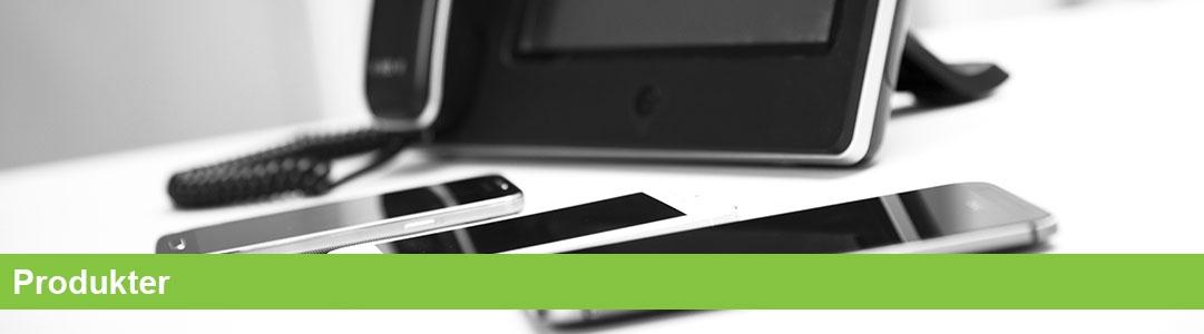 IP-telefoni, telefoniprodukter, Erhvervstelefoni, Firmatelefoni