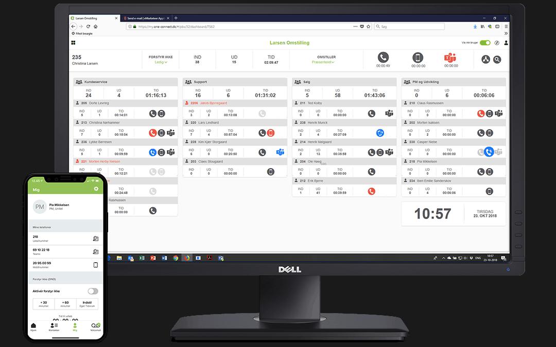 Uni-tels digitale omstillingsbord