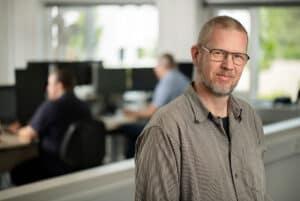 Daniel - seniorudvikler hos Uni-tel