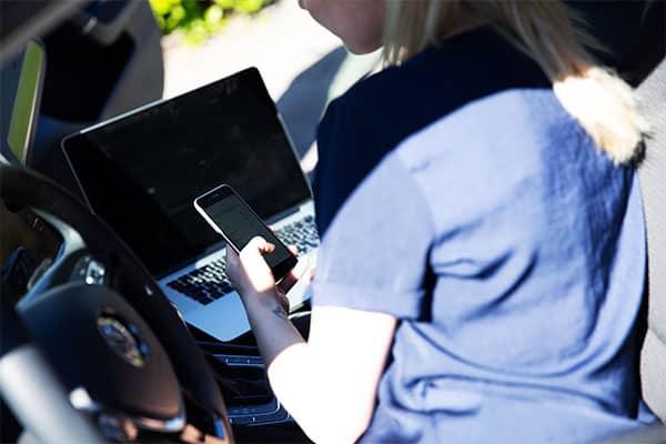 5G-netværket får stor betydning for selvkørende biler.