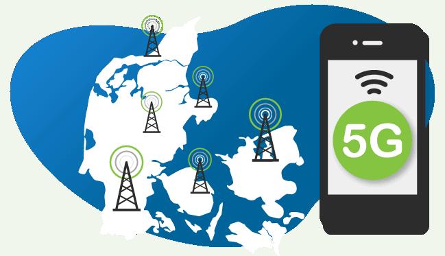 5G-netvaerket ruller ud i Danmark i 2020