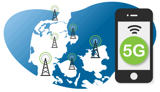 5G-netværket kræver flere master i hele landet.