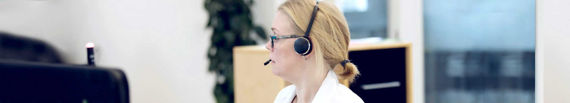 Med en Uni-tel-løsning kan du få softphone på din Microsoft-PC