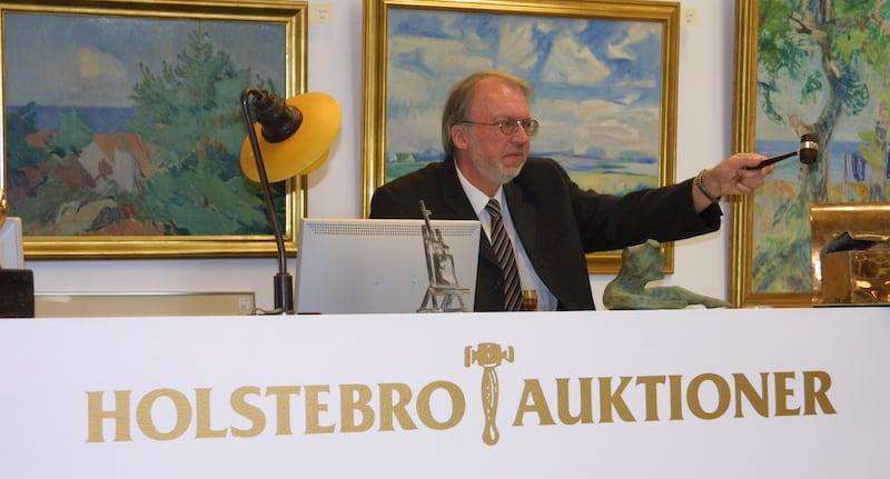 Hans Jørgen Eriksen med hammeren i hånden