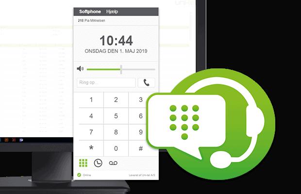 SIP-Softphone fra Uni-tel